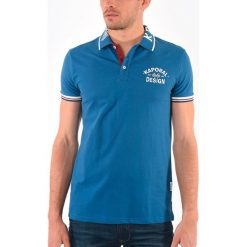 Koszulki polo: Gładka koszulka polo z krótkim rękawem