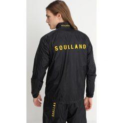 Kurtki męskie bomber: Soulland RUNNING Kurtka wiosenna black