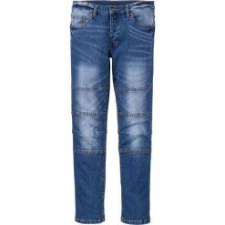 """Dżinsy ze stretchem Skinny Fit Straight bonprix Niebieski """"stone"""" Used. Niebieskie jeansy męskie relaxed fit marki House, z jeansu. Za 79,99 zł."""