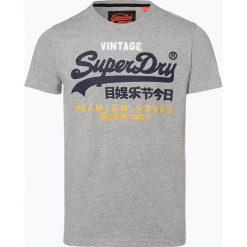 Superdry - T-shirt męski, szary. Szare t-shirty męskie z nadrukiem Superdry, m. Za 149,95 zł.