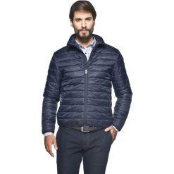 Kurtka lifton granatowy. Niebieskie kurtki męskie pikowane Recman, na zimę, m, z nylonu. Za 169,99 zł.