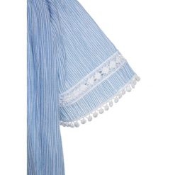Bluzki dziewczęce bawełniane: Replay Bluzka light blue/white