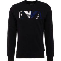 Emporio Armani FELPA Bluza nero. Szare bluzy męskie marki Emporio Armani, l, z bawełny, z kapturem. Za 639,00 zł.