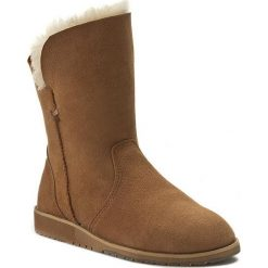 Buty EMU AUSTRALIA - Bells Beach Lo W11361 Chestnut. Brązowe buty zimowe damskie marki EMU Australia, ze skóry. Za 639,00 zł.