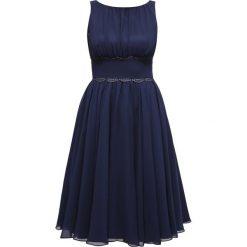 Swing Sukienka koktajlowa ink. Niebieskie sukienki koktajlowe marki Swing, z materiału. Za 399,00 zł.