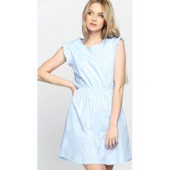 Sukienki: Niebieska Sukienka Disturbia