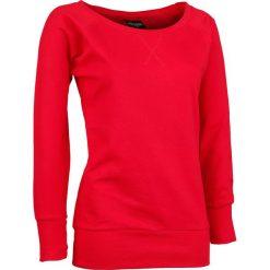 Bluzy damskie: Urban Classics Ladies Wideneck Crewneck Bluza damska czerwony
