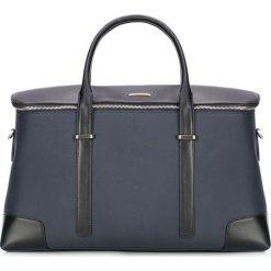 Torba podróżna 87-3U-205-7. Niebieskie torby na laptopa marki Wittchen, w paski, z nylonu. Za 679,00 zł.