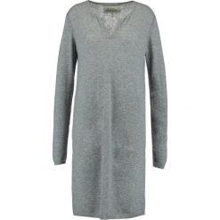 Sukienki dzianinowe: And Less PALMAIRE Sukienka dzianinowa grey melange