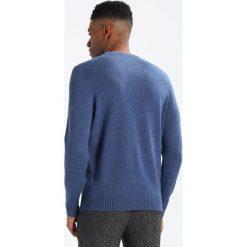 Swetry klasyczne męskie: Lyle & Scott BLEND JUMPER Sweter blue marl