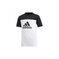 T-shirty z krótkim rękawem Dziecko  adidas  Koszulka Equipment. Niebieskie t-shirty chłopięce z krótkim rękawem marki S.Oliver, z nadrukiem, z bawełny. Za 79,95 zł.
