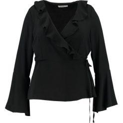 Bluzki asymetryczne: Glamorous Curve WRAP BLOUSE Bluzka black