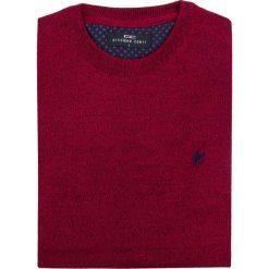Sweter PIETRO SWT000032. Czerwone swetry klasyczne męskie marki Giacomo Conti, na jesień, m, z materiału. Za 169,00 zł.