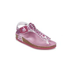 Sandały Dziecko  Agatha Ruiz de la Prada  BOUDOU. Szare sandały dziewczęce marki Agatha Ruiz de la Prada. Za 175,20 zł.