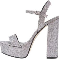Sandały damskie: New Look STRADA Sandały na obcasie silver