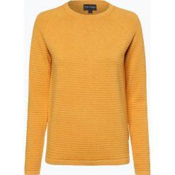 Franco Callegari - Sweter damski, żółty. Zielone swetry klasyczne damskie marki Franco Callegari, z napisami. Za 179,95 zł.