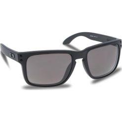 Okulary przeciwsłoneczne OAKLEY - Holbrook OO9102-B5 Steel/Prizm Daily Polarized. Szare okulary przeciwsłoneczne męskie aviatory Oakley, z tworzywa sztucznego. W wyprzedaży za 649,00 zł.
