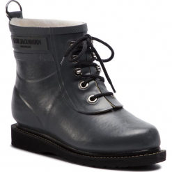 Kalosze ILSE JACOBSEN - RUB2 Grey 06. Brązowe buty zimowe damskie marki Alma en Pena, z materiału, na obcasie. Za 579,00 zł.
