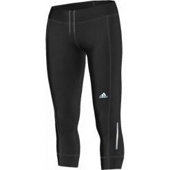 Spodnie sportowe damskie: Adidas Spodnie biegowe  Run 3/4 Tight W czarne r. XS (S10293)