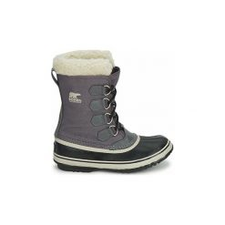 Śniegowce Sorel  WINTER CARNIVAL. Szare buty zimowe damskie Sorel. Za 423,20 zł.