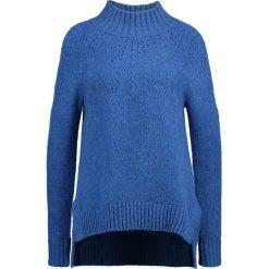 Swetry klasyczne damskie: Banana Republic TNECK POINTELLE Sweter blue tropic