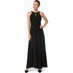 Marie Lund - Damska sukienka wieczorowa, czarny. Czarne długie sukienki Marie Lund, z szyfonu, eleganckie, z długim rękawem. Za 699,95 zł.