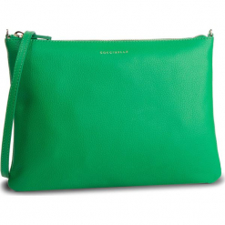 Torebka COCCINELLE - DV3 Mini Bag E5 DV3 55 F4 07 Alein Green G05. Zielone listonoszki damskie marki Coccinelle, ze skóry. Za 549,90 zł.