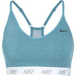 Biustonosze sportowe: Nike Performance PRO INDY SOFT BRA Biustonosz sportowy noise aqua/white/cool grey/black