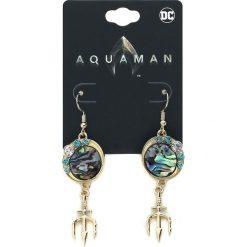 Aquaman Trident Kolczyki złoty. Żółte kolczyki damskie Aquaman, złote. Za 62,90 zł.