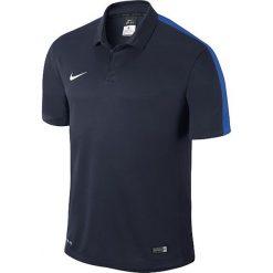 Koszulki polo: Nike Koszulka męska Squad15 SS Sideline Polo  czarny r. XXL  (645538-451)