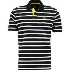 T-shirty męskie z nadrukiem: La Martina STRIPED Tshirt z nadrukiem black/optic white