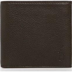 Polo Ralph Lauren - Portfel skórzany. Czarne portfele męskie Polo Ralph Lauren, z materiału. Za 339,90 zł.