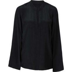 Bluzki damskie: Bluzka z rozkloszowanymi rękawami bonprix czarny