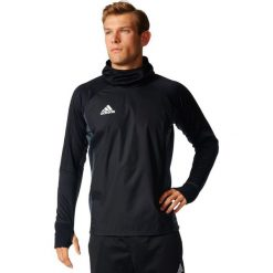 Adidas Koszulka męska TIRO17 Warm Top czarna r. XXL (AY2867). Czarne koszulki sportowe męskie Adidas, m. Za 183,28 zł.