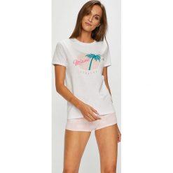 Undiz - Piżama. Szare piżamy damskie marki Undiz, l, z nadrukiem, z bawełny. Za 69,90 zł.