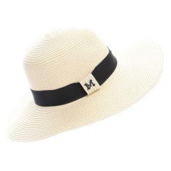Beżowy Kapelusz Beeskep. Białe kapelusze damskie marki Born2be, na lato. Za 49,99 zł.