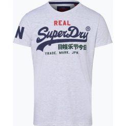 Superdry - T-shirt męski, czarny. Czarne t-shirty męskie z nadrukiem Superdry, l, z dżerseju. Za 99,95 zł.