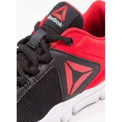 Reebok YOURFLEX TRAIN 9.0 Obuwie treningowe black/primal red/white. Czarne buty skate męskie marki Reebok, z gumy, reebok yourflex. Za 149,00 zł.