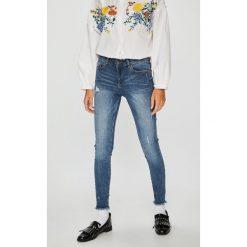 Medicine - Jeansy Basic. Niebieskie jeansy damskie rurki marki House, z jeansu. Za 119,90 zł.