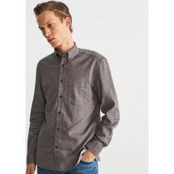 Koszula regular fit - Szary. Szare koszule męskie marki House, l, z bawełny. Za 119,99 zł.