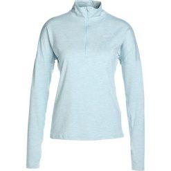 Nike Performance RUNNING DRY Koszulka sportowa ocean bliss/heather/reflective silver. Brązowe topy sportowe damskie marki N/A, w kolorowe wzory. W wyprzedaży za 186,15 zł.