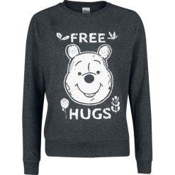 Kubuś Puchatek Free Hugs Bluza damska odcienie szarego. Szare bluzy rozpinane damskie Kubuś Puchatek, l, z motywem z bajki. Za 144,90 zł.