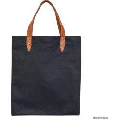 Bag for life. Czarne shopper bag damskie Pakamera, ze skóry. Za 120,00 zł.