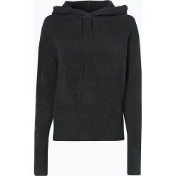 Review - Sweter damski, niebieski. Szare swetry klasyczne damskie marki Reserved, m, z kapturem. Za 129,95 zł.