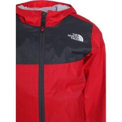 The North Face ZIPLINE Kurtka przeciwdeszczowa red/graphite grey. Czerwone kurtki dziewczęce przeciwdeszczowe The North Face, z materiału, sportowe. Za 199,00 zł.