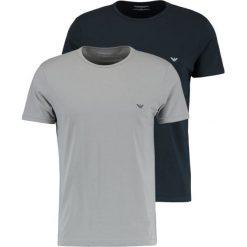 Podkoszulki męskie: Emporio Armani CREW NECK 2 PACK Podkoszulki gray/navy blue