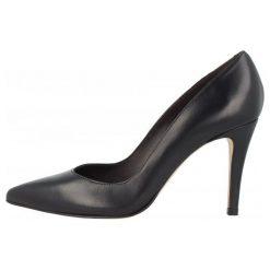 Roberto Botella Czółenka Damskie 35, Czarny. Czarne buty ślubne damskie Roberto Botella, ze skóry, na wysokim obcasie, na obcasie. Za 375,00 zł.