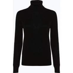 Franco Callegari - Sweter damski z czystego kaszmiru, czarny. Zielone swetry klasyczne damskie marki Franco Callegari, z napisami. Za 579,95 zł.