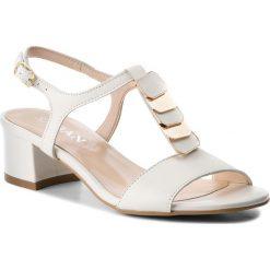 Sandały damskie: Sandały SAGAN - 2856 Biały Lico