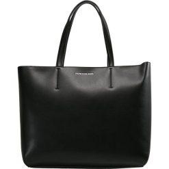 Calvin Klein Jeans SCULPTED ZIPPER TOTE Torba na zakupy black. Czarne shopper bag damskie Calvin Klein Jeans, z jeansu. Za 589,00 zł.